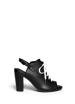 Main View - Click To Enlarge - rag & bone - Trafford' slingback lace-up sandals