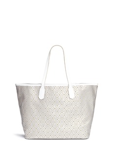 Mischa 'Jet Set Tote' in classic hexagon print