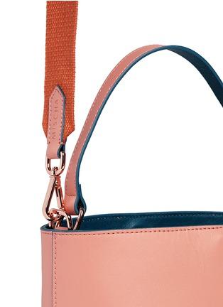 - Mischa - 'Monogram' leather bucket bag