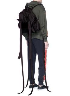 D-ANTIDOTE x FILA '01-1' ballistic nylon backpack