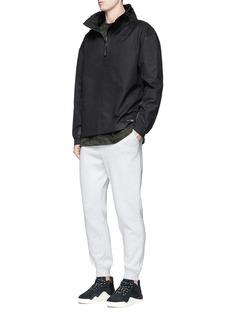 Adidas'Equipment Advanced Windbreaker' half zip blazer