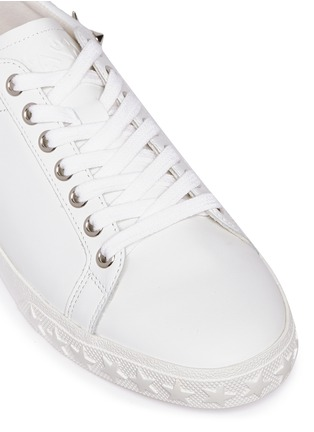 Detail View - Click To Enlarge - Ash - 'Dazed' star stud calfskin leather sneakers