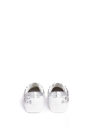 Back View - Click To Enlarge - Ash - 'Dazed' star stud calfskin leather sneakers