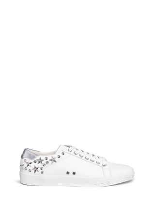 Main View - Click To Enlarge - Ash - 'Dazed' star stud calfskin leather sneakers