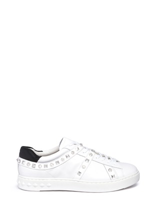 Main View - Click To Enlarge - Ash - 'Play' strass stud leather sneakers