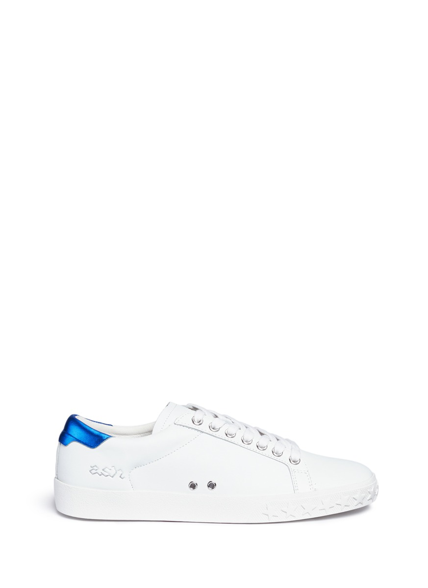 Dazed Bis contrast counter leather sneakers by Ash