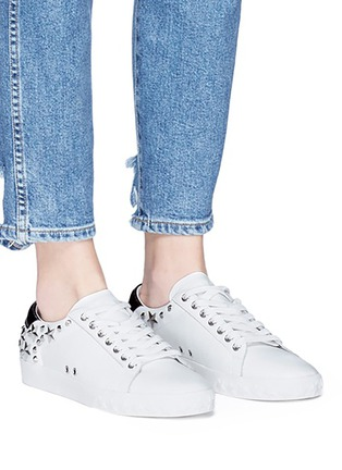 Ash - 'Dazed' star stud calfskin leather sneakers