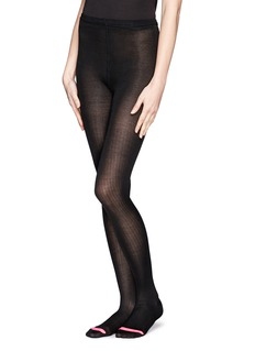 HANSEL FROM BASEL Silk rib tights