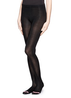 HANSEL FROM BASEL Silk flat knit tights