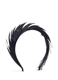YUNOTME BY GLORIA YU'Lisbeth' feather headband