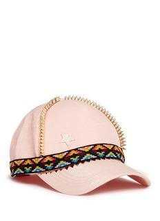VennaStud star tribal embroidered baseball cap