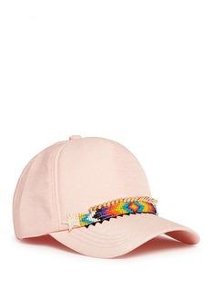 VennaZircon star beaded tribal band baseball cap