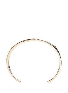 Elizabeth and James'Maxwell' topaz split cuff bracelet