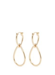 Elizabeth and James 'Cannon' teardrop hoop earrings