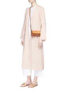 Elizabeth and James Anya' open front long cardigan
