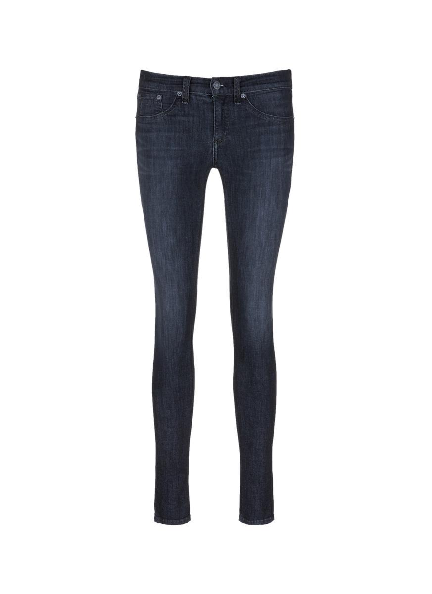 Overdye wash skinny jeans by rag & bone/JEAN