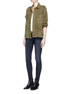 rag & bone/JEANOverdye wash skinny jeans