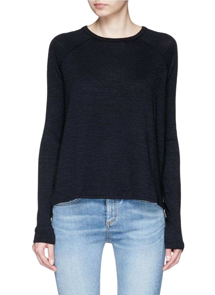 Camden long sleeve knit T-shirt by rag & bone/JEAN