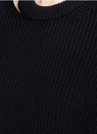 Detail View - Click To Enlarge - rag & bone/JEAN - 'Ginnie' chunky rib knit sweater
