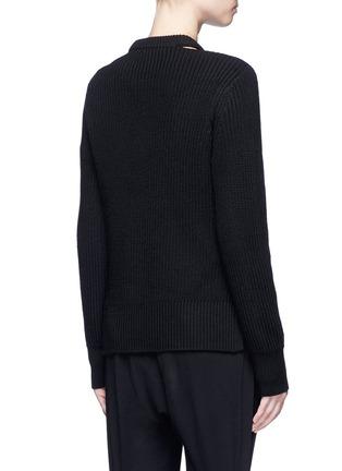 Back View - Click To Enlarge - rag & bone/JEAN - 'Ginnie' chunky rib knit sweater