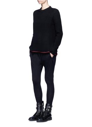 Figure View - Click To Enlarge - rag & bone/JEAN - 'Ginnie' chunky rib knit sweater