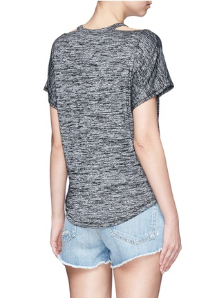 Back View - Click To Enlarge - rag & bone/JEAN - Cutout shoulder short sleeve top