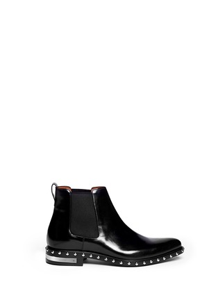 Givenchy - Stud leather Chelsea boots