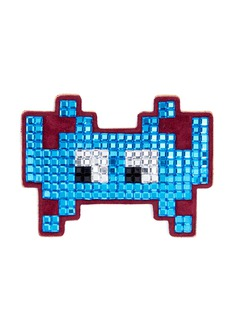 Anya Hindmarch'Space Invaders' diamanté embellished sticker