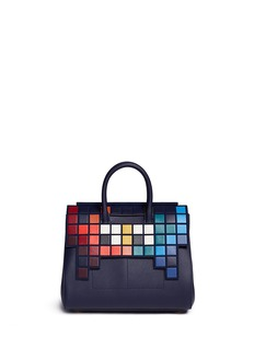 Anya Hindmarch'Space Invaders Ephson' small leather shoulder bag