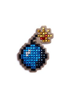 Anya Hindmarch 'Bomb' diamanté embellished sticker