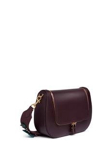 Anya Hindmarch'Space Invaders Vere' crystal embellished leather satchel bag