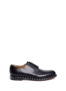 Valentino'Rockstud Soul' leather Derbies