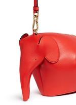 'Elephant' mini leather shoulder bag