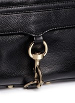'M.A.C.' mini leather crossbody bag