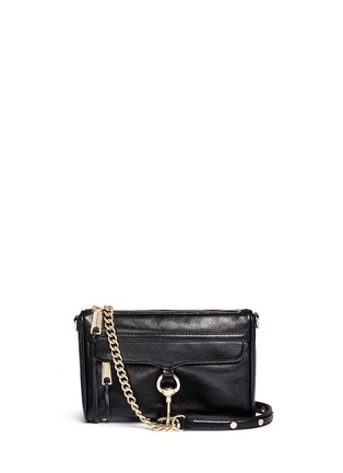 Main View - Click To Enlarge - Rebecca Minkoff - 'M.A.C.' mini leather crossbody bag