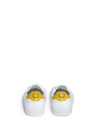 Back View - Click To Enlarge - Anya Hindmarch - 'Wink' embossed leather sneakers