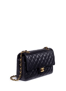 Vintage Chanel Quilted lambskin leather 10
