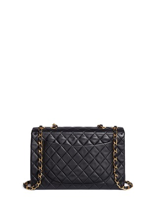 Detail View - Click To Enlarge - Vintage Chanel - Quilted lambskin leather maxi flap bag