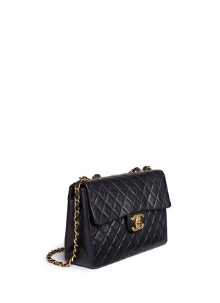 Figure View - Click To Enlarge - Vintage Chanel - Quilted lambskin leather maxi flap bag