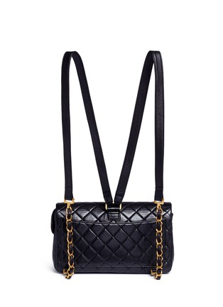 Detail View - Click To Enlarge - Vintage Chanel - Quilted lambskin leather 2.55 backpack