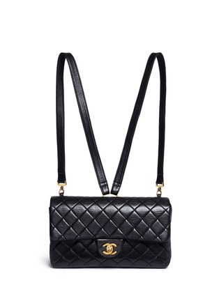 Main View - Click To Enlarge - Vintage Chanel - Quilted lambskin leather 2.55 backpack