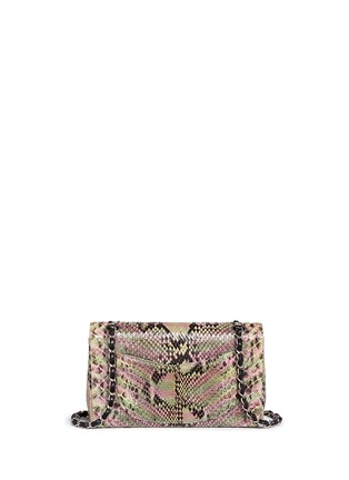 Detail View - Click To Enlarge - Vintage Chanel - Python leather 2.55 shoulder bag