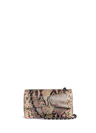 Main View - Click To Enlarge - Vintage Chanel - Python leather 2.55 shoulder bag