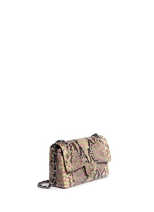 Figure View - Click To Enlarge - Vintage Chanel - Python leather 2.55 shoulder bag