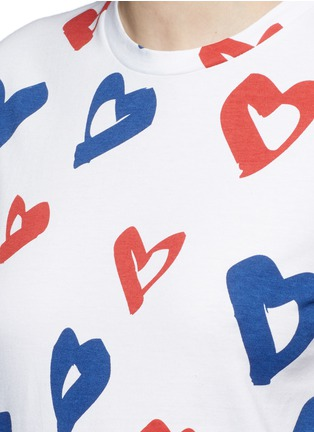 Detail View - Click To Enlarge - Etre Cecile  - 'Heart' print jersey T-shirt