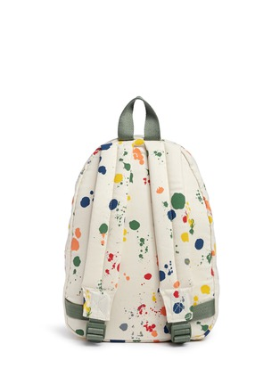 Back View - Click To Enlarge - Stella Mccartney Kids - 'Splat' paint print kids backpack