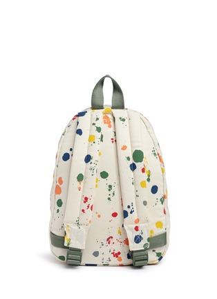 Back View - Click To Enlarge - Stella Mccartney Kids - 'Splat' paint print kids backpack