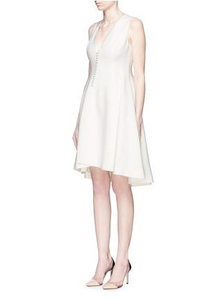 正面 - 点击放大 - ANIRAC - 不对称衣襟羊毛连衣裙
