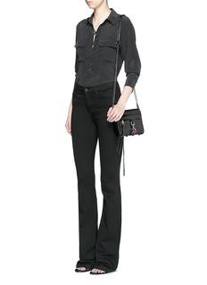 REBECCA MINKOFF'M.A.C.' mini leather crossbody bag