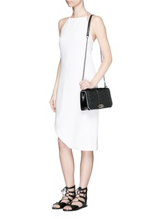 REBECCA MINKOFF'Love' quilted leather crossbody bag